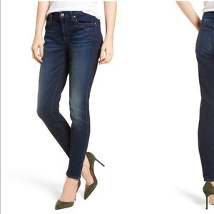 7 for all man kind b(air) high rise skinny jeans